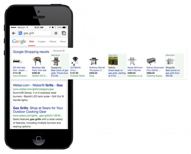 Google, dopo l'accordo, su mobile
