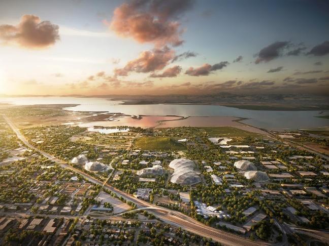 Google campus, North Bayshore