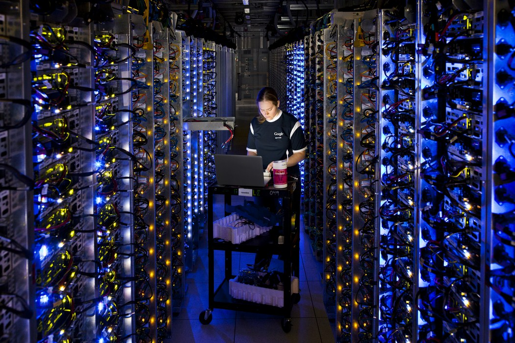 the-dalles-server-room