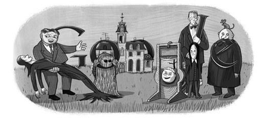 La Famiglia Addams (in ricordo di Charles Addams)
