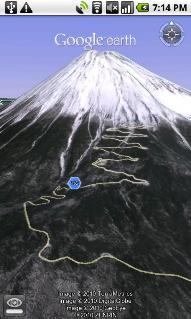 Google Earth per tablet Android
