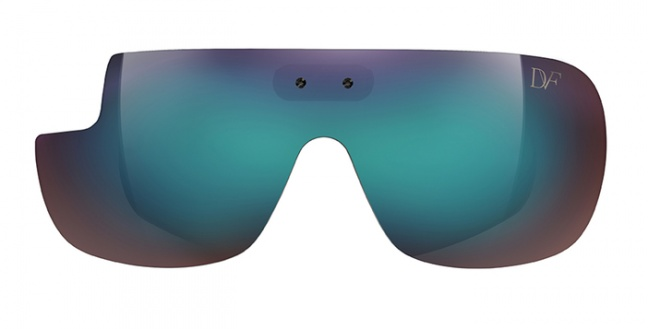 Google Glass, montature DVF collection