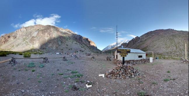 Google Maps sull'Aconcagua