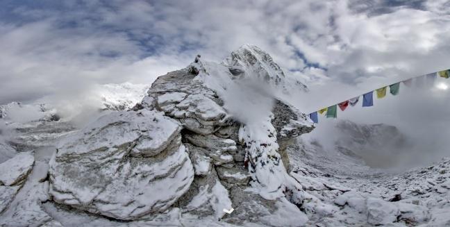Google Maps sull'Everest