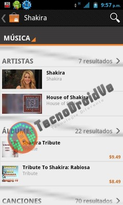 Google Music store, leaked screenshot (TecnoDroidVe)