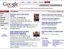 Google News nel 2002