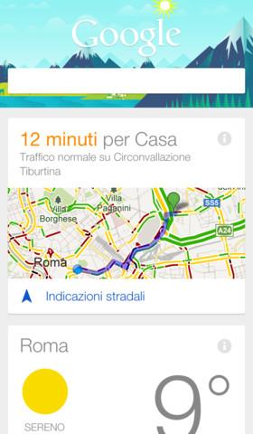 Google Now per iOS
