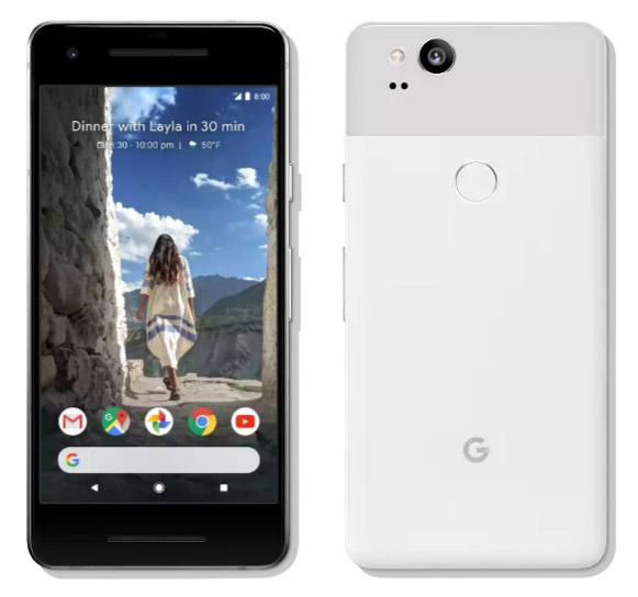 Google Pixel 2 e Pixel 2 XL