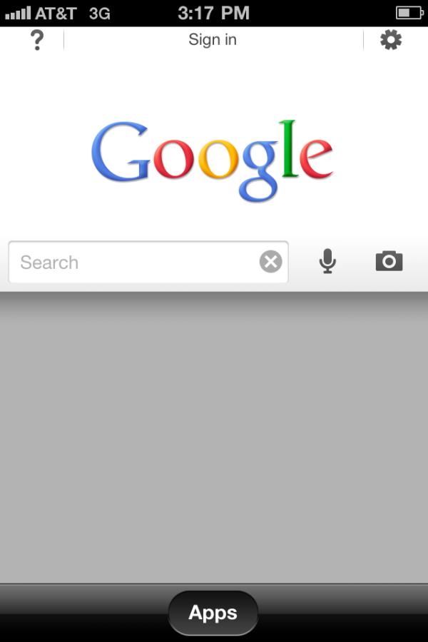 Google Search App per iPhone