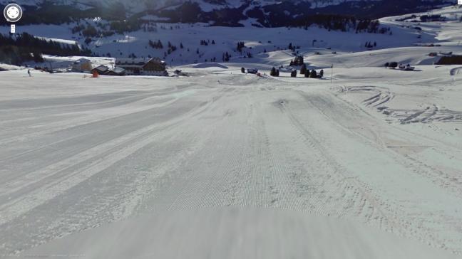 Google Street View sulle piste da sci di Alpe di Siusi