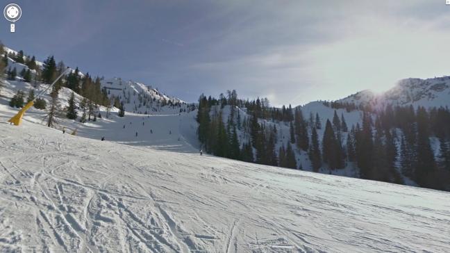 Google Street View sulle piste da sci di Madonna di Campiglio