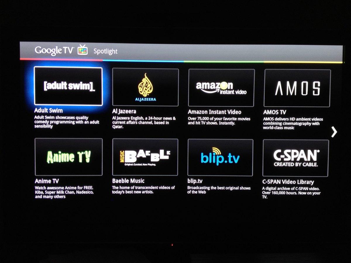 Google TV 2.0 e Android Market