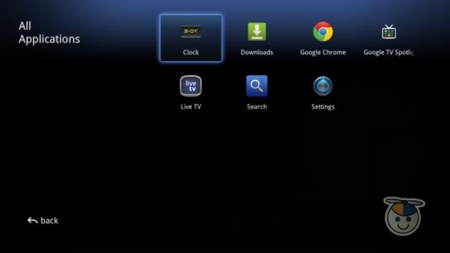 Google TV 2.0 Fishtank