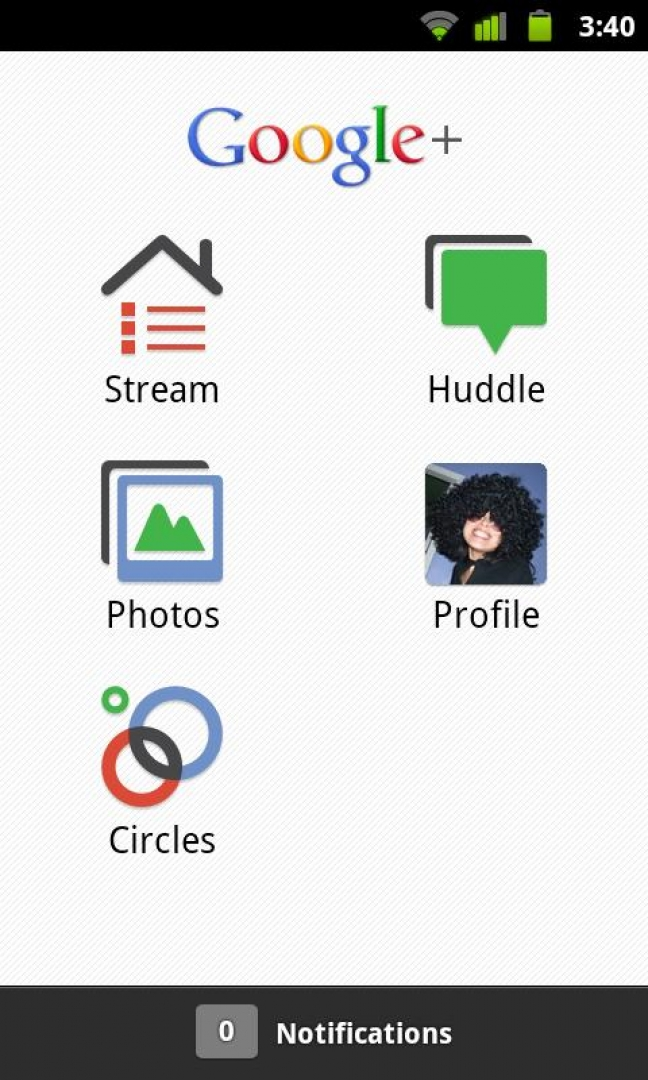 Google+ su Android