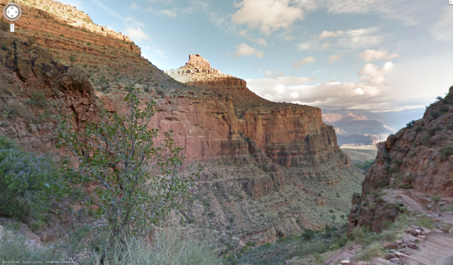 Grand Canyon con Google Maps