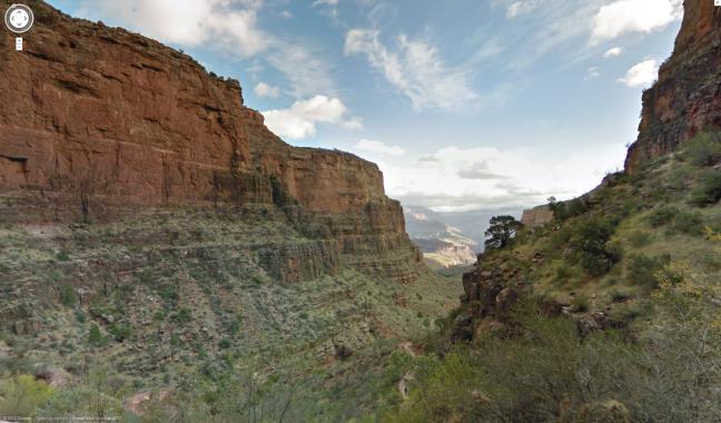 Grand Canyon con Google Maps