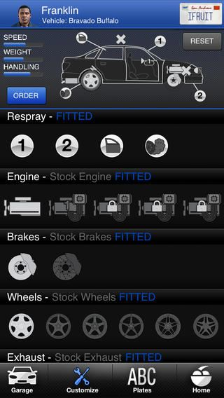 GTA 5: iFruit su iPhone