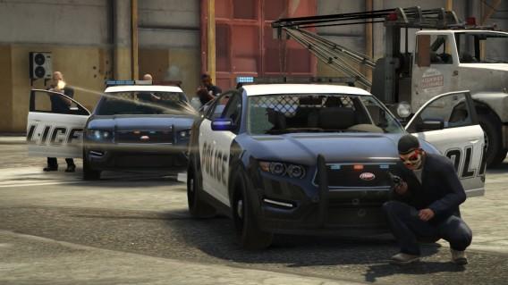 Una missione di GTA 5