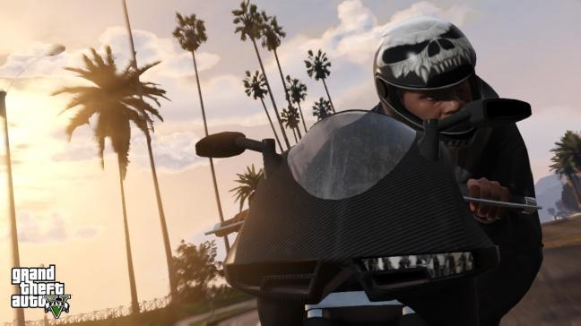 GTA 5, protagonista in moto