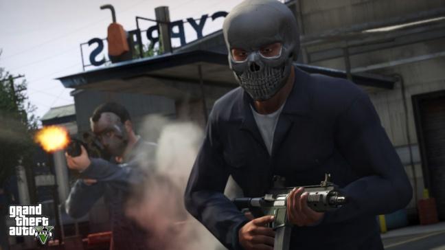 GTA 5, una gang in azione