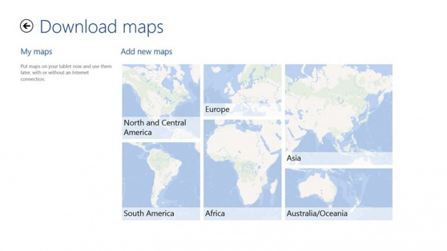 HERE Maps per Nokia Lumia 2520