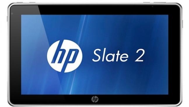 HP Slate 2, frontale