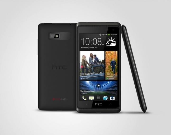 HTC Desire 600 in colorazione nera