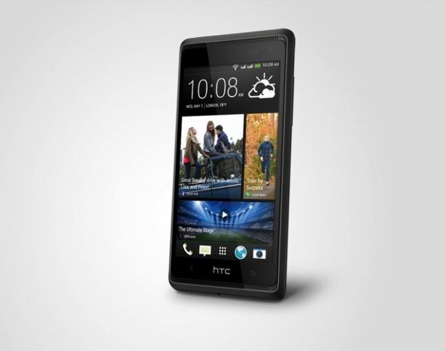 HTC Desire 600, uno sguardo da destra