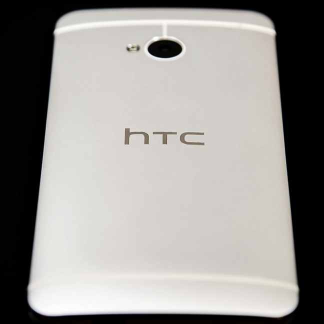 HTC One in colorazione bianca