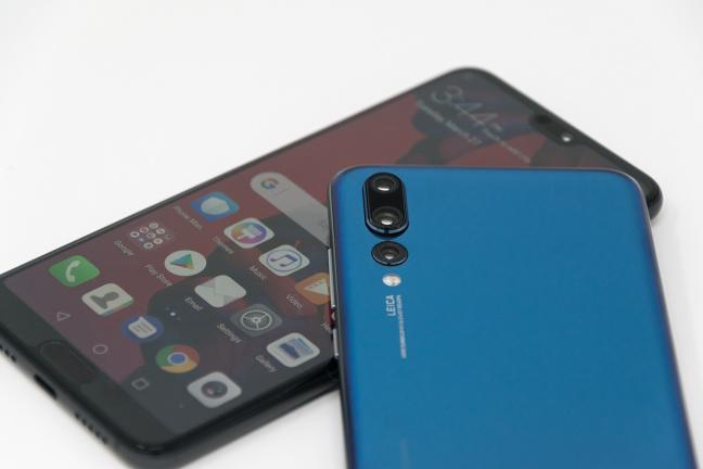 La gamma P20 di Huawei