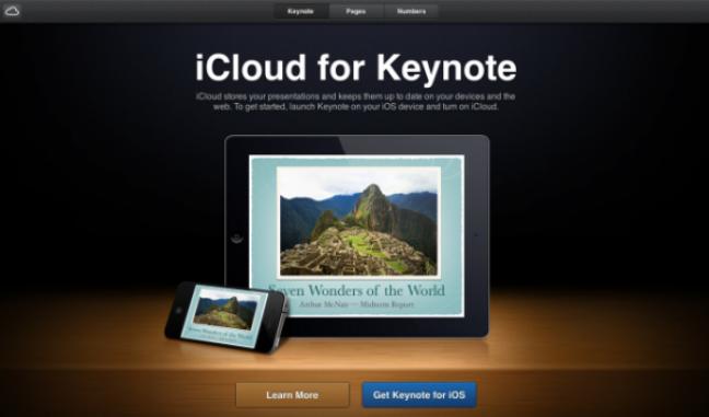 iCloud anteprima