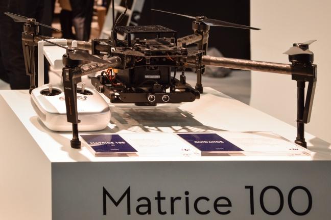 I droni di DJI all'IFA 2015 di Berlino