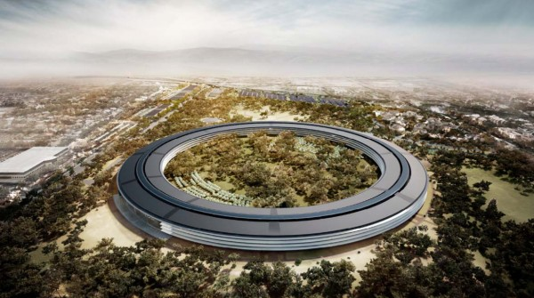 Il futuro campus Apple