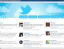 Internet Explorer 10 Platform Preview: tweet column