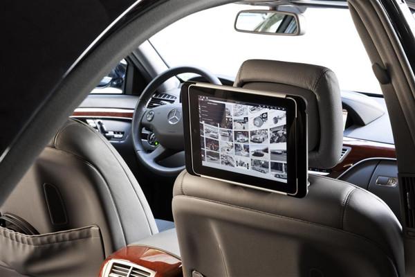 iPad su Mercedes