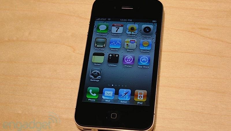iPhone 4 nero - Engadget Hands-on foto 1