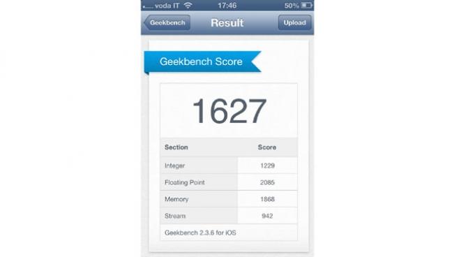 iPhone 5 - benchmark