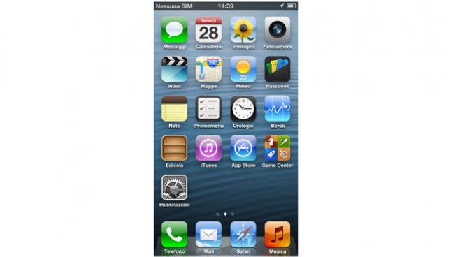 iPhone 5 - iOS 6