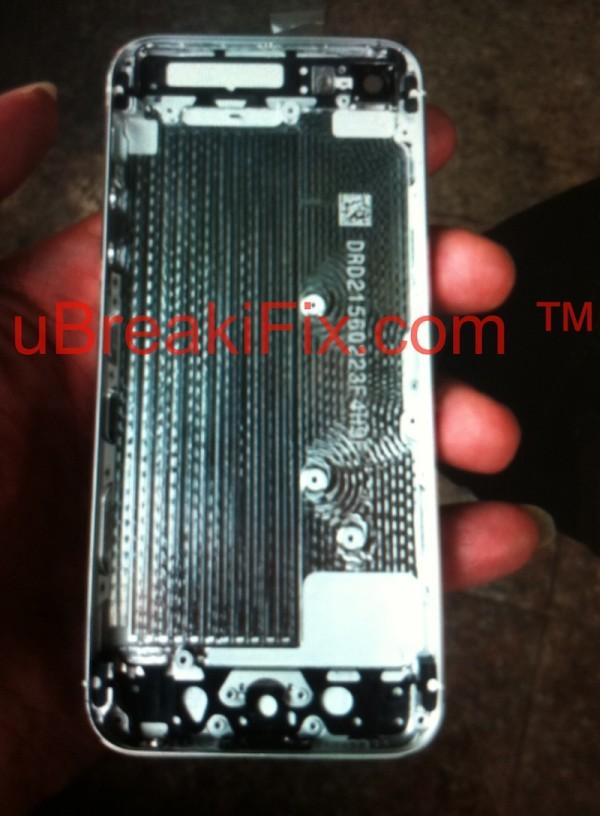 iPhone 5: posteriore