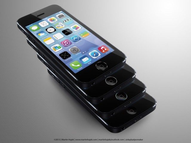 iPhone 5S, rendering