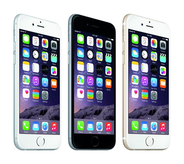 Le colorazioni di iPhone 6