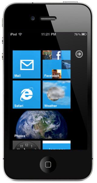 iPhone come Windows Phone 7
