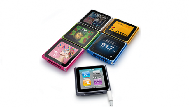 iPod Nano panoramica