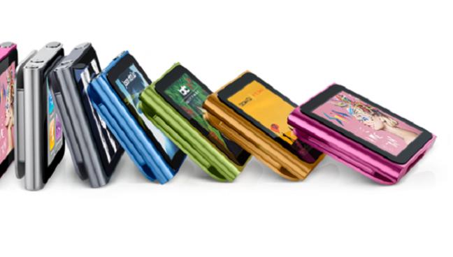 iPod Nano colori
