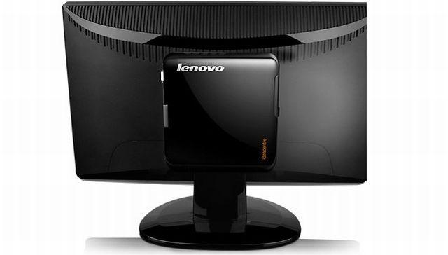 Lenovo IdeaCentre Q150 Dietro al monitor
