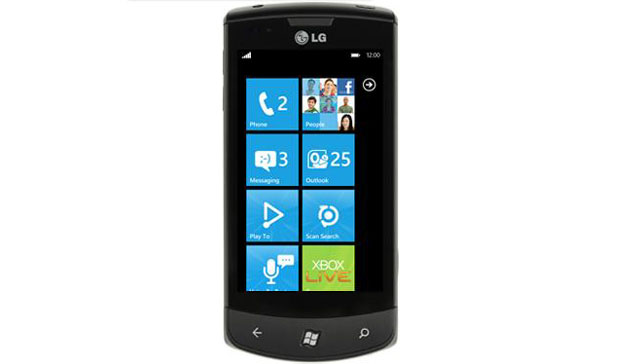 LG Optimus 7 - Windows Phone 7