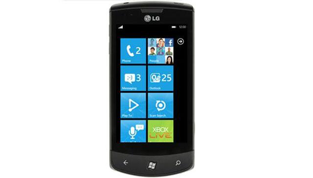 LG Optimus 7 - Windows Phone 7