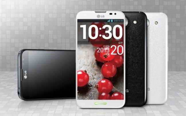 LG Optimus G Pro, variante nera e bianca