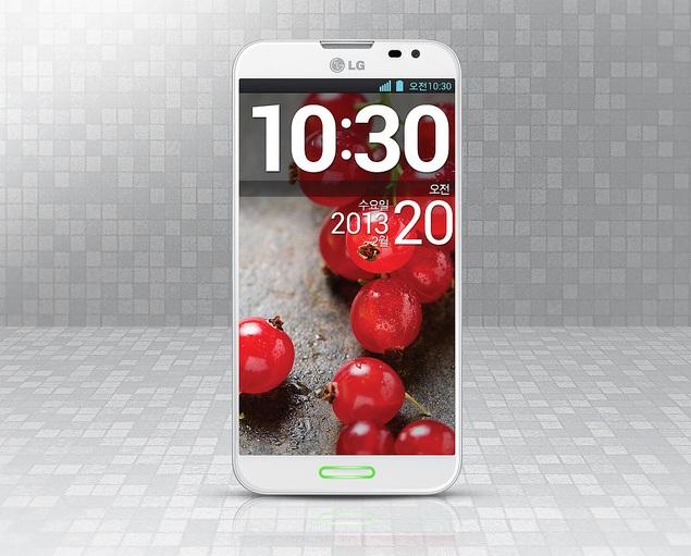 LG Optimus G Pro bianco