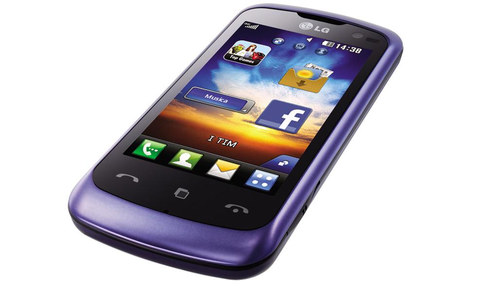 LG Surf 4G - viola